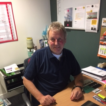 Presserv training and operations manager Brian Reid