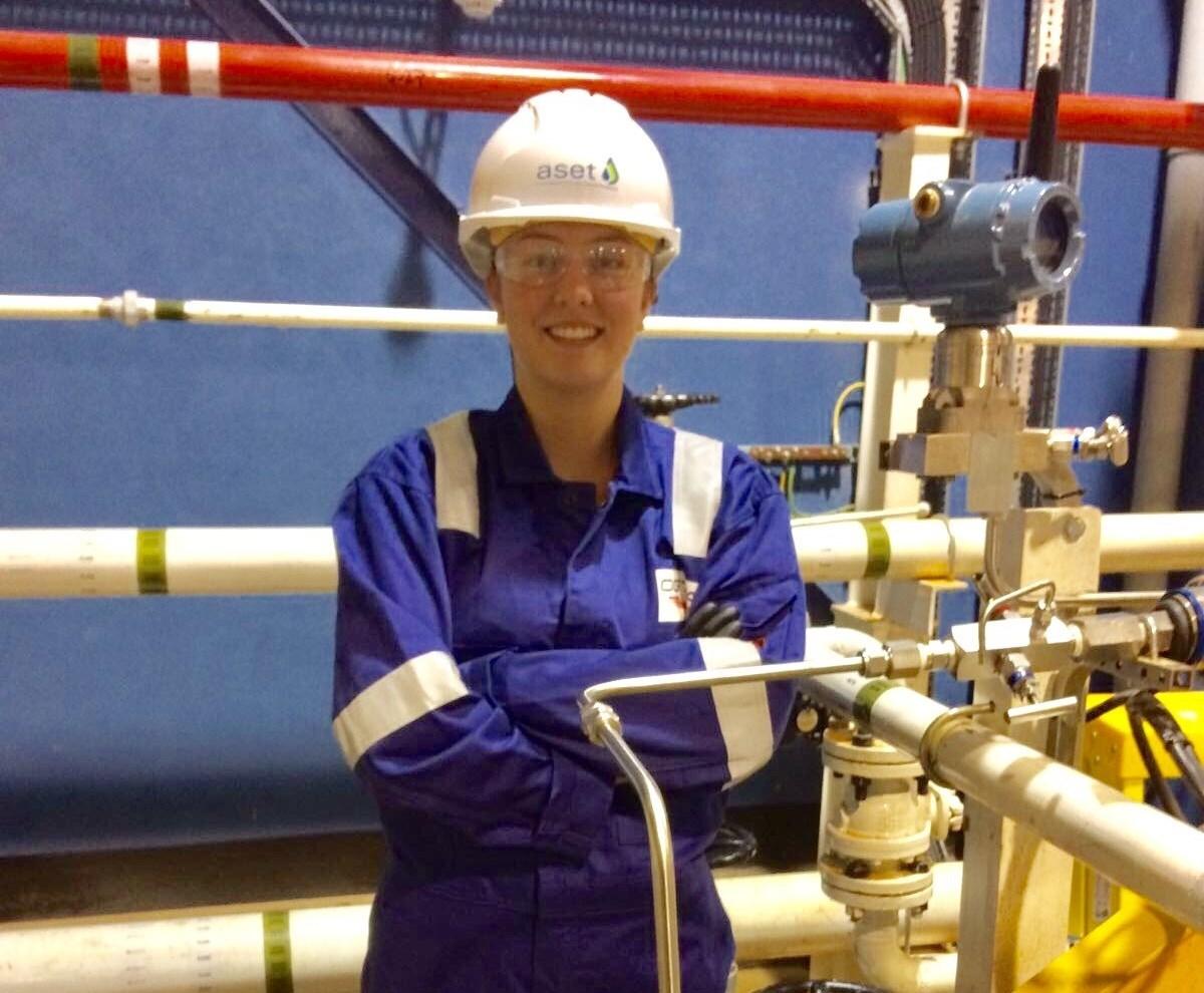 OGTAP apprentice Sophie Ewen