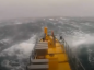 VIDEO: Scotrenewables tidal turbine generates energy despite heavy storms