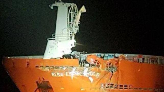 Damaged tanker
