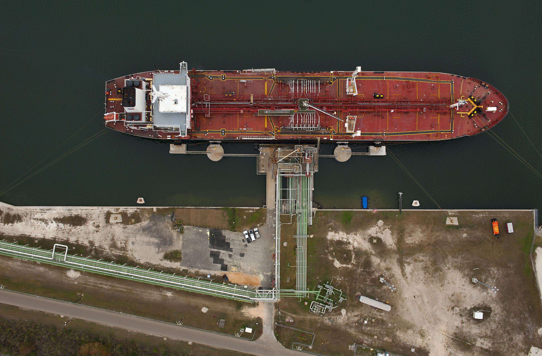Oil tanker