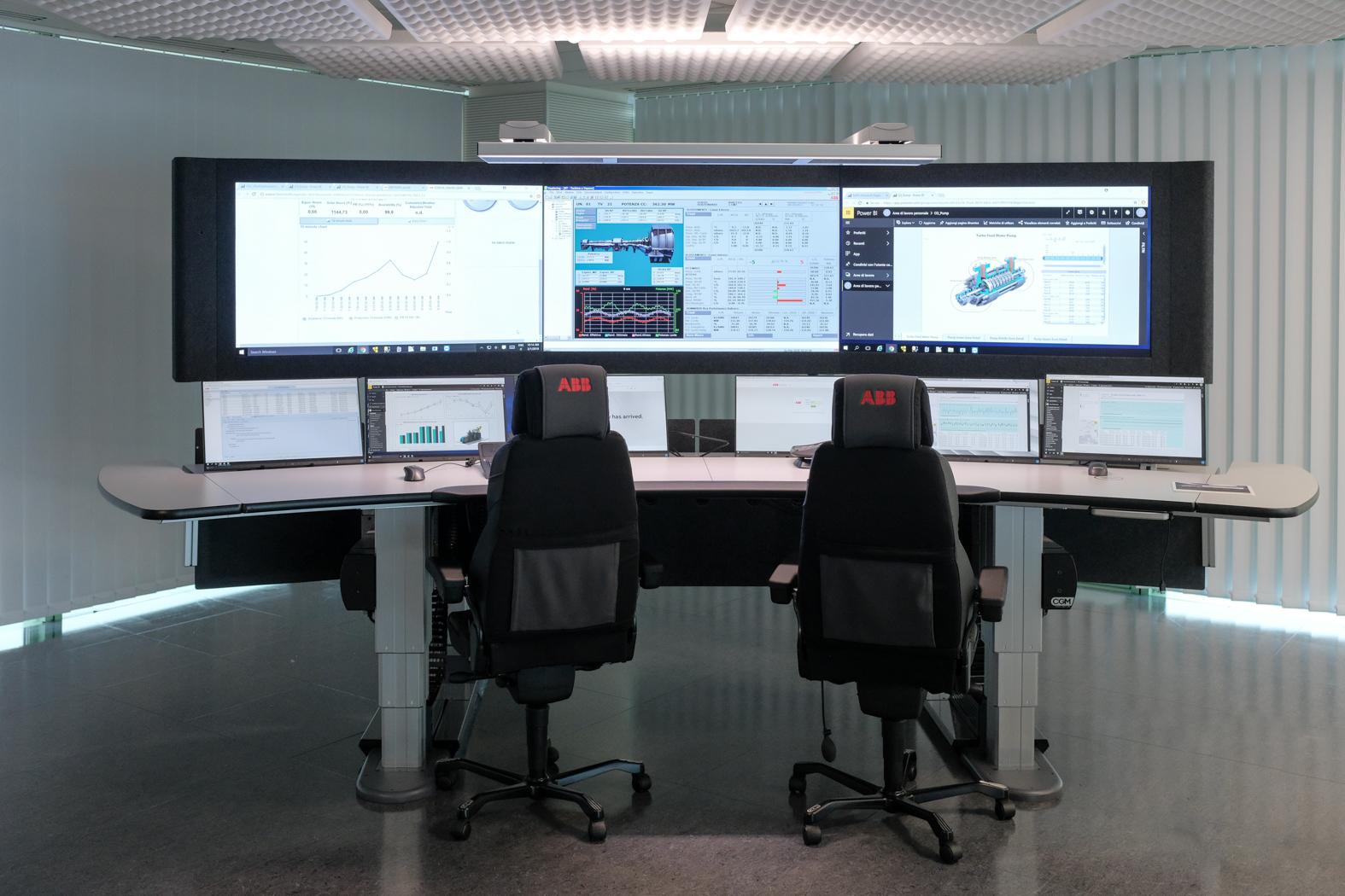 ABB Ability Collaborative Operation Center, Genoa, Italy.