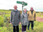 Boddam Community Association members, from left, Billy May, Betty May and Sam Coull face renewed uncertainty