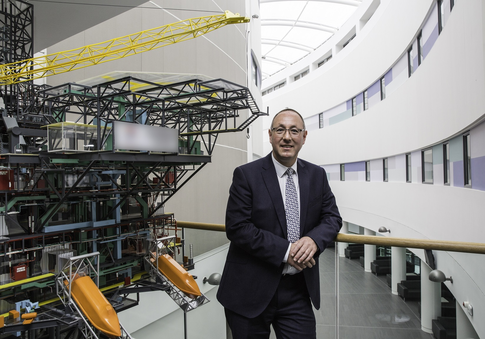 Professor Paul de Leeuw, director of RGU's oil and gas institute