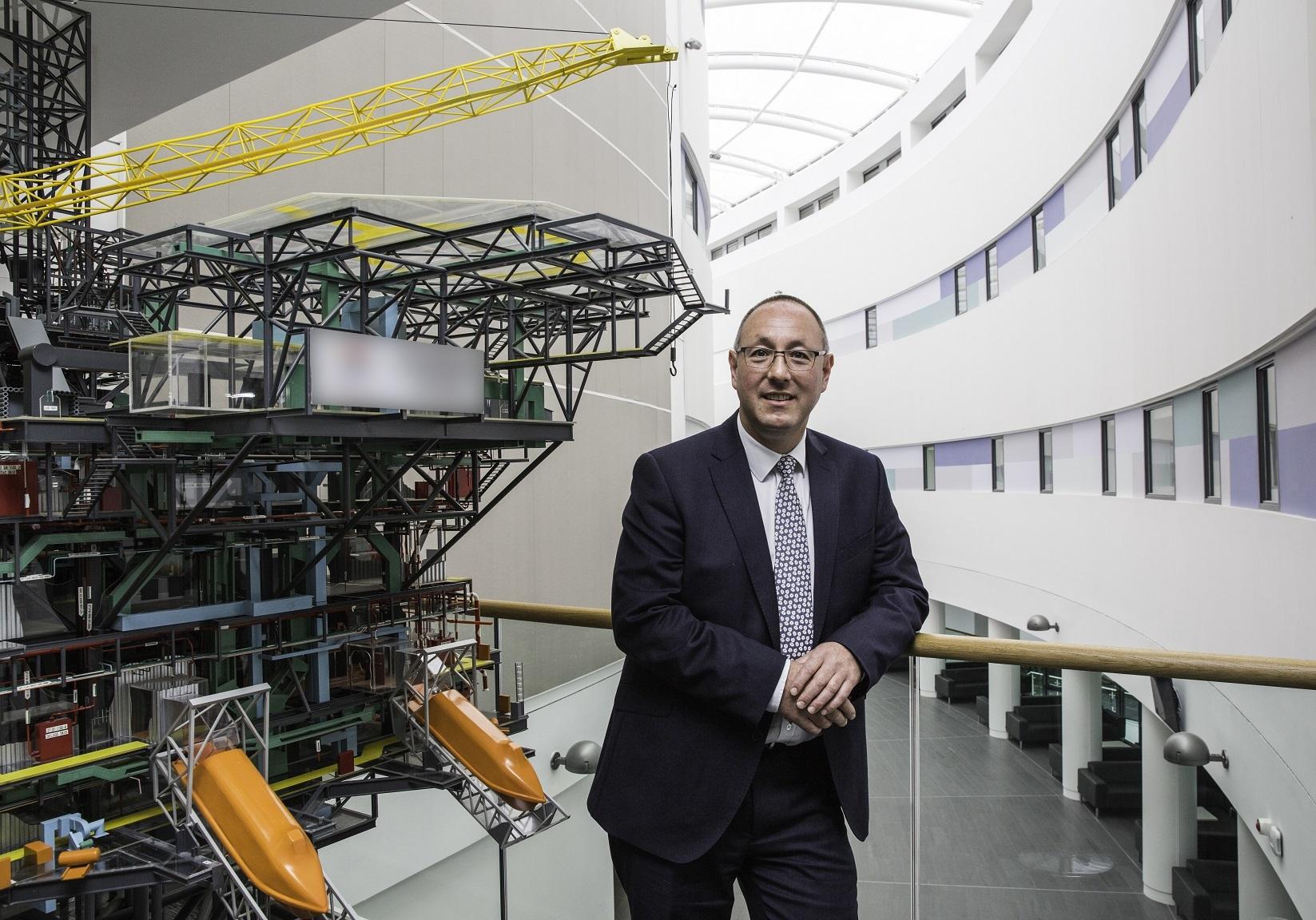 Professor Paul de Leeuw, director of RGU's oil and gas institute
