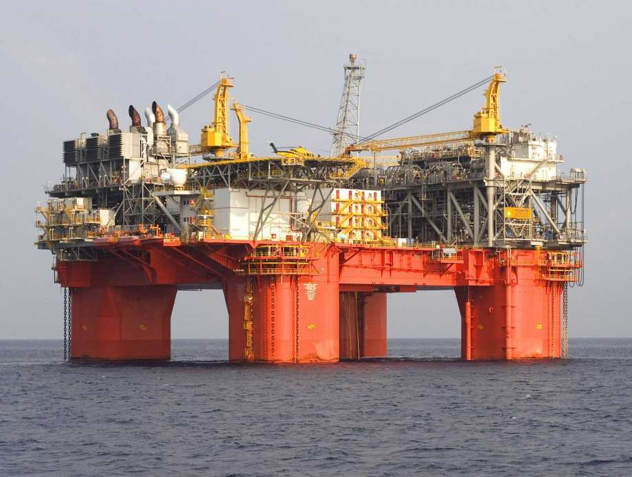 BP Plc's Atlantis oil and gas platform, located in the Gulf of Mexico