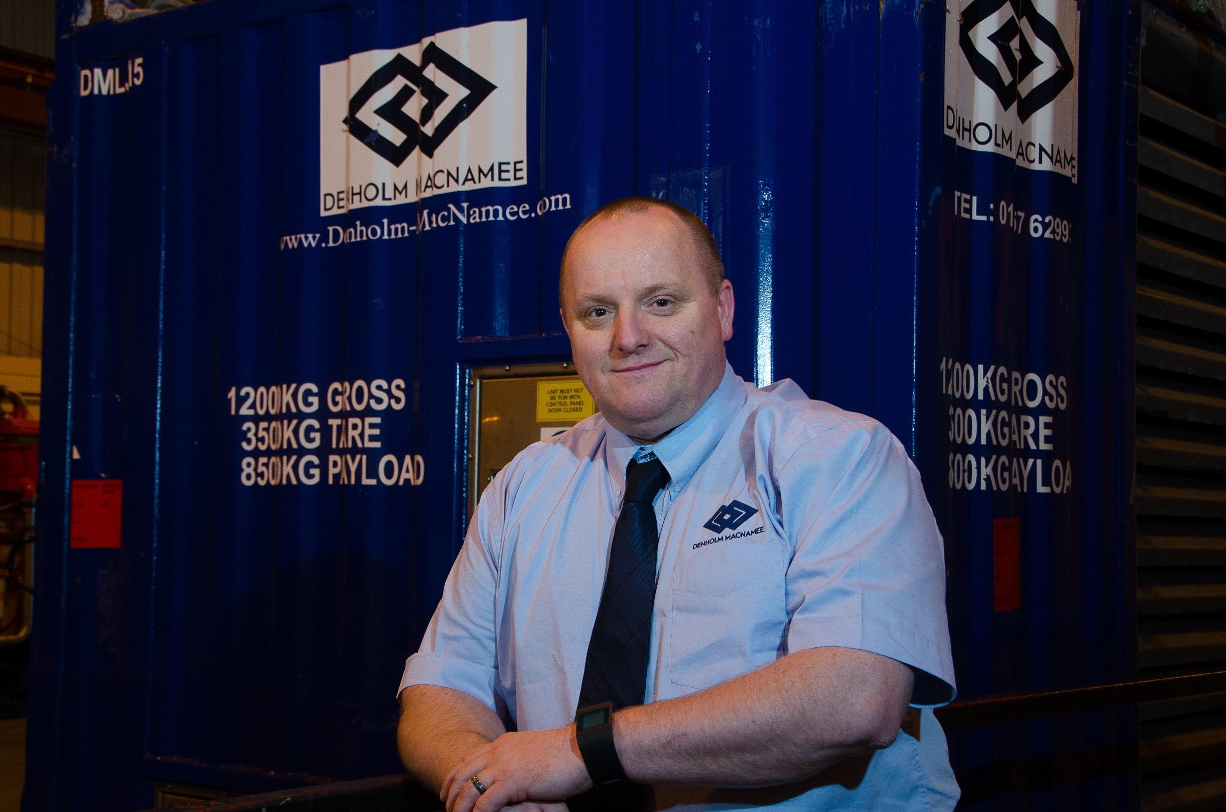 Brian Ritchie of Denholm MacNamee