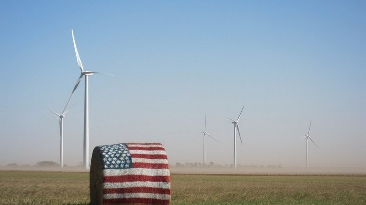 US wind. Enel's Chisholm View wind farm, Oklahoma City.