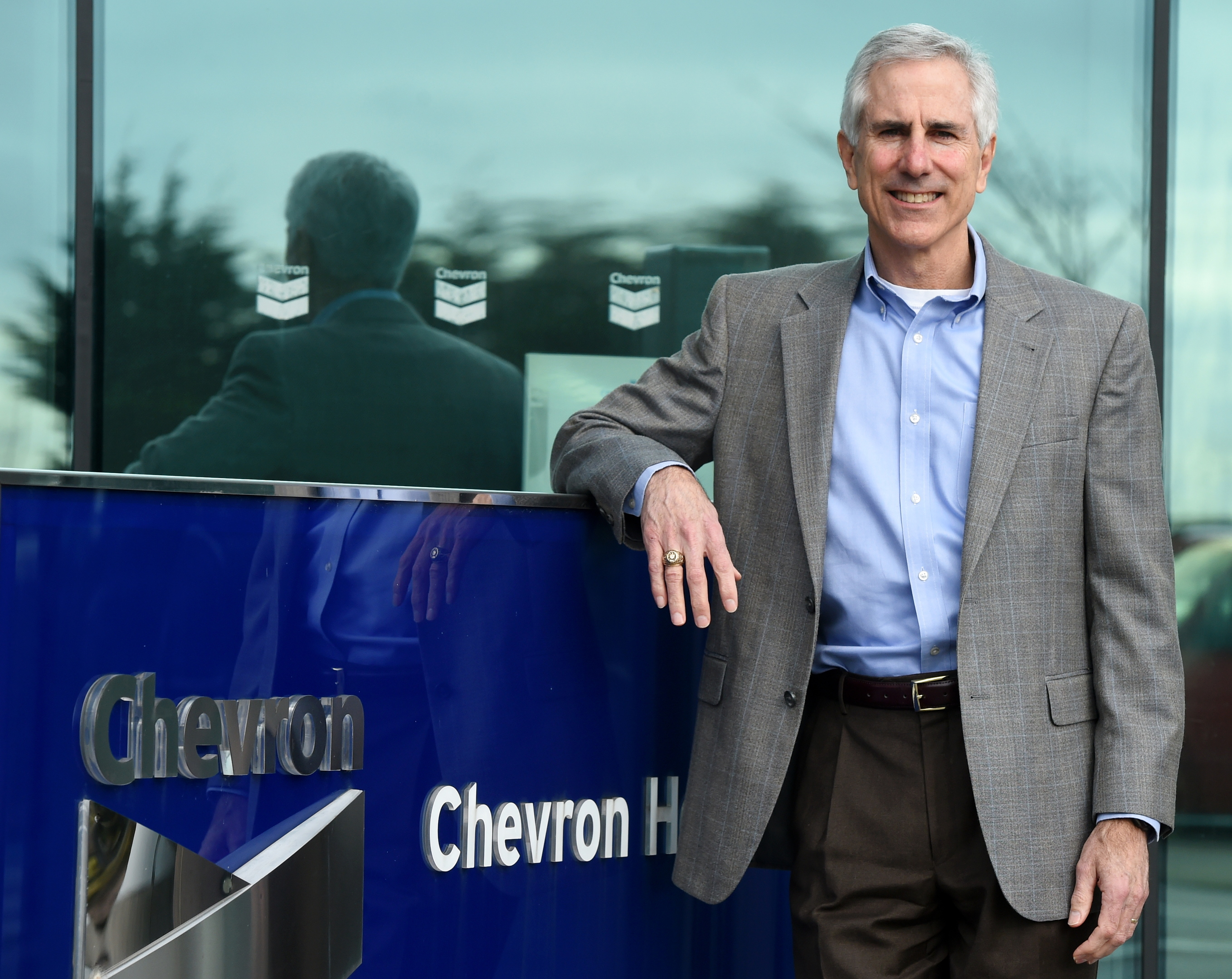 Kevin Ricketts, general manager, Chevron Upstream Europe, pictured at Chevron, Hill of Rubislaw, Aberdeen.