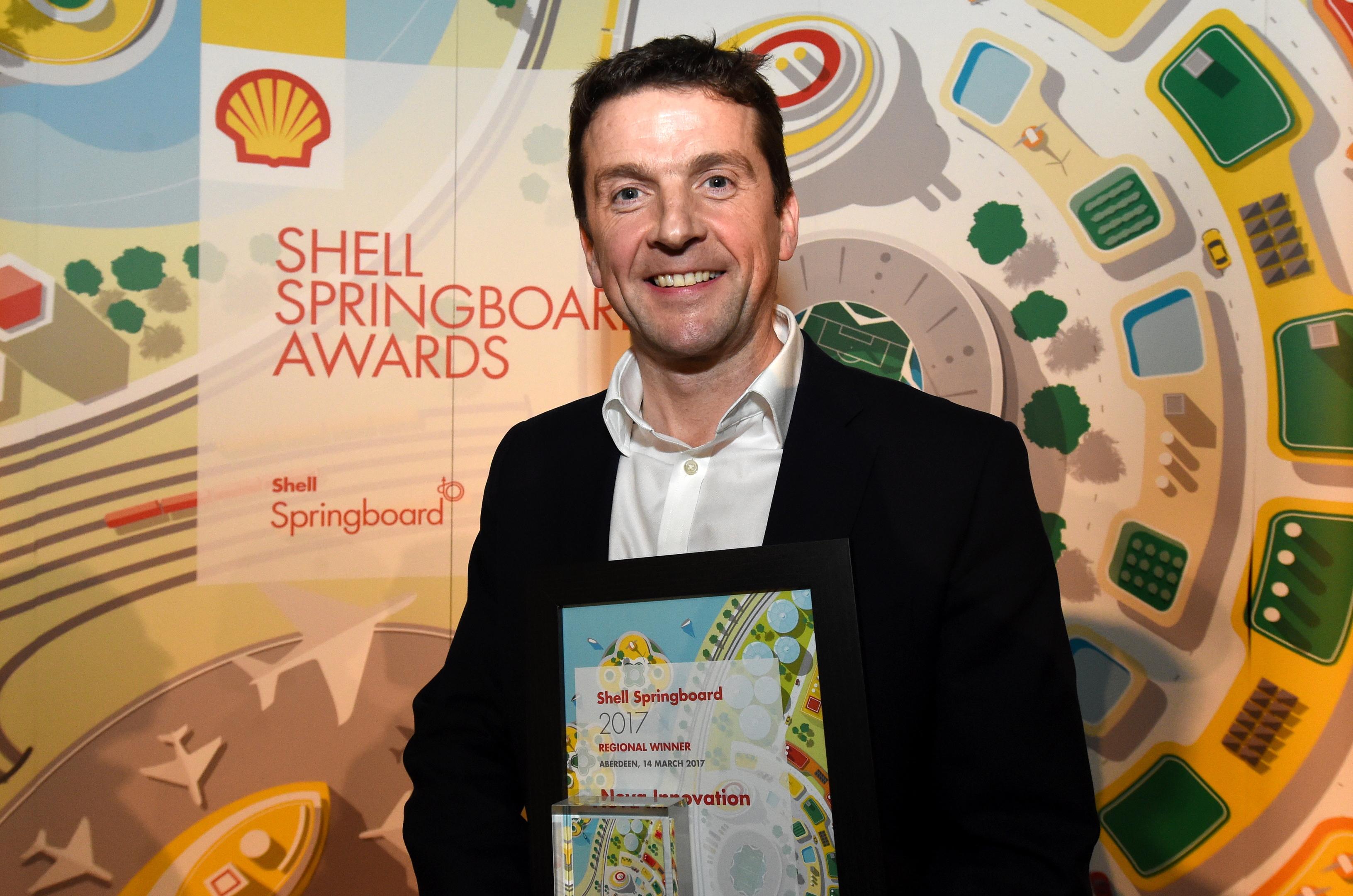 Simon Forrest, CEO Nova Innovation