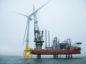 Aberdeen Offshore Wind Farm first turbine installation