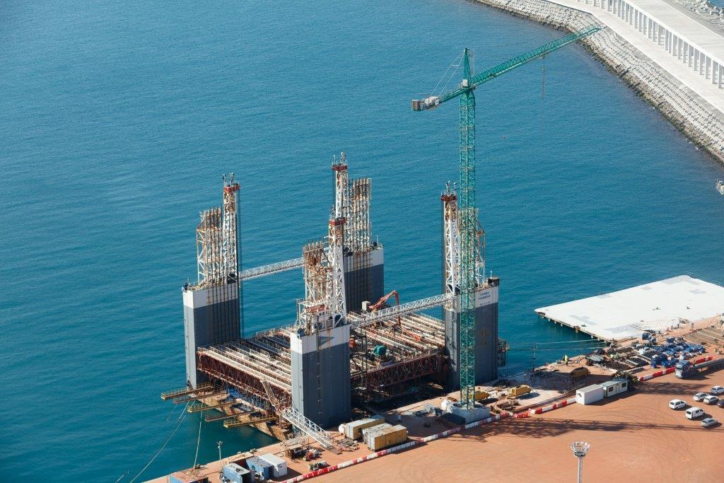 Currently being manufactured in La Coruna in North West Spain By Dragaos Offshore.