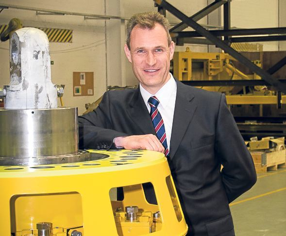 Managing director and co-owner of Subsea Technologies, Drummond Lawson