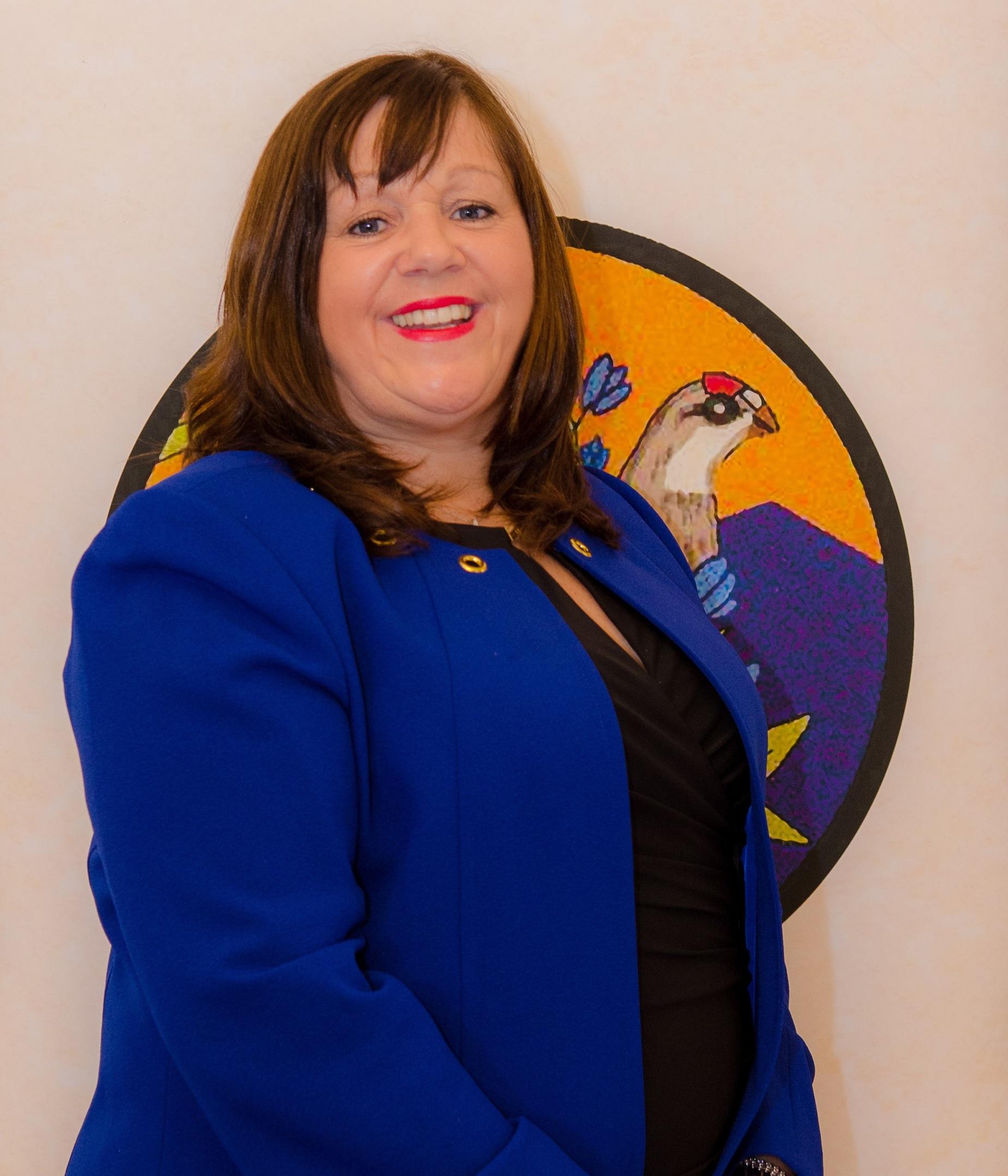 Houston-Grampian Association president Lorna Ramsay