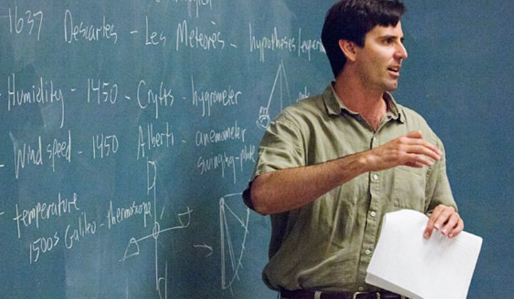 Mark Jacobson, professor of civil and environmental engineering at Stanford University
