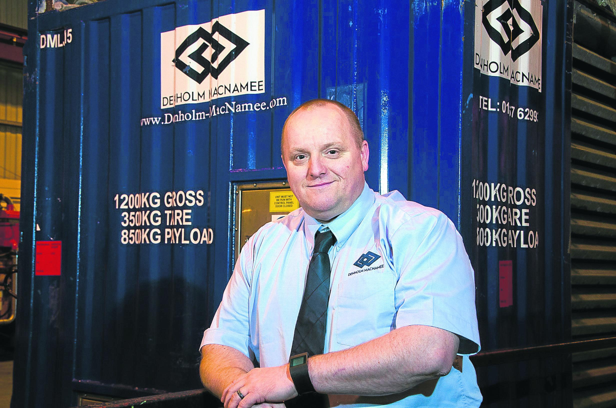Brian Ritchie is managing director, Denholm MacNamee