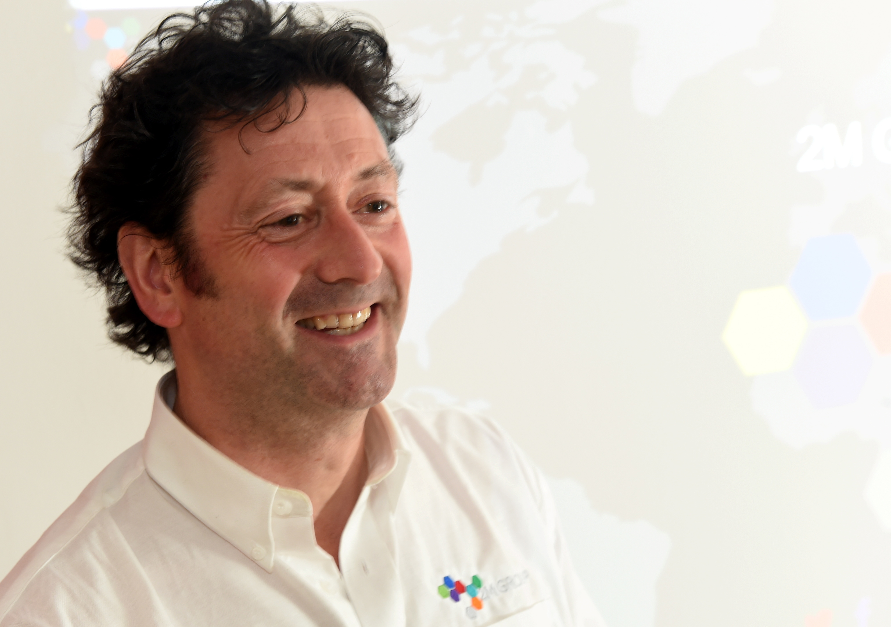 Eddie Middleton, group sales manager of 2M Group. Picture by Jim Irvine.
