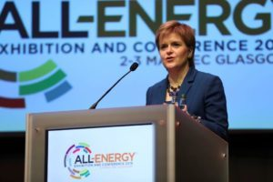 Sturgeon tells Westminster to 'get its act together' on clean energy