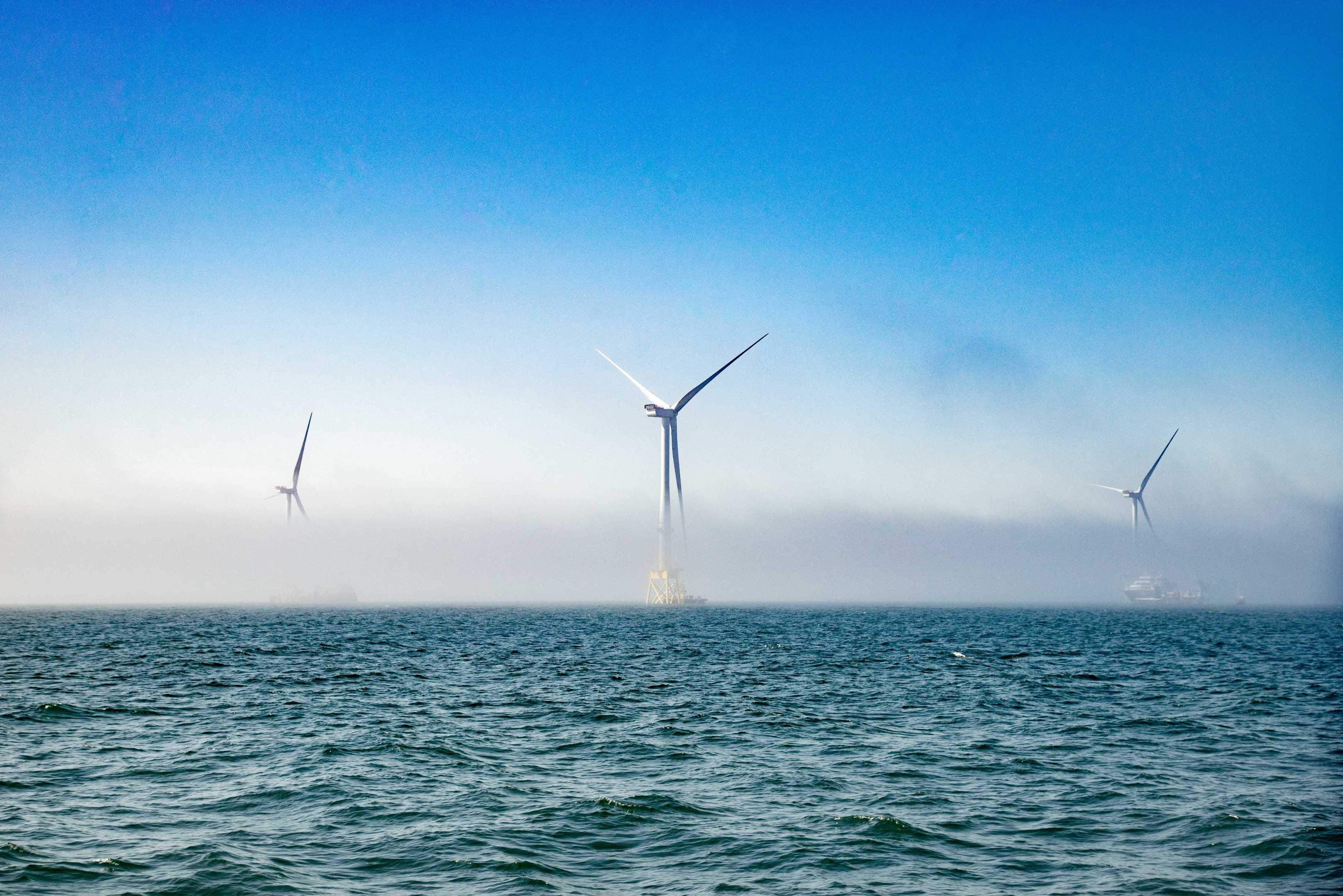 The European Offshore Wind Deployment Centre (EOWDC).
