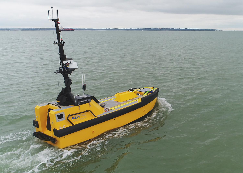 ORE Catapult study autonomous surface vessels