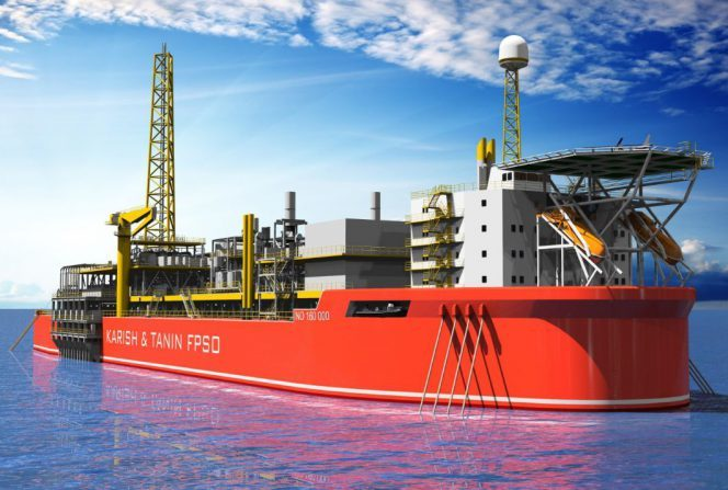 An image showing what the FPSO would look like.