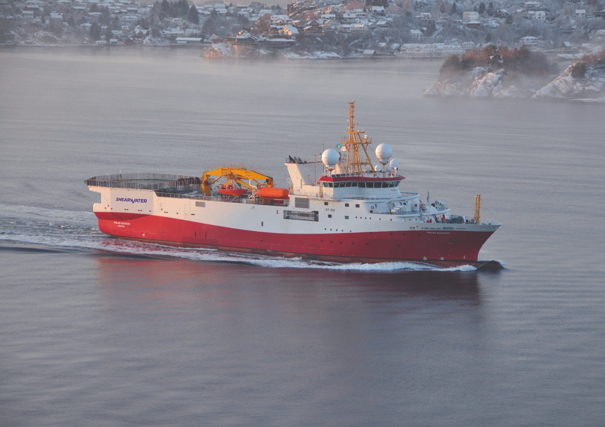 Shearwater wins scanning contract for Premier's Tolmount
