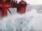 WATCH: Heavy seas batter North Sea accommodation rig