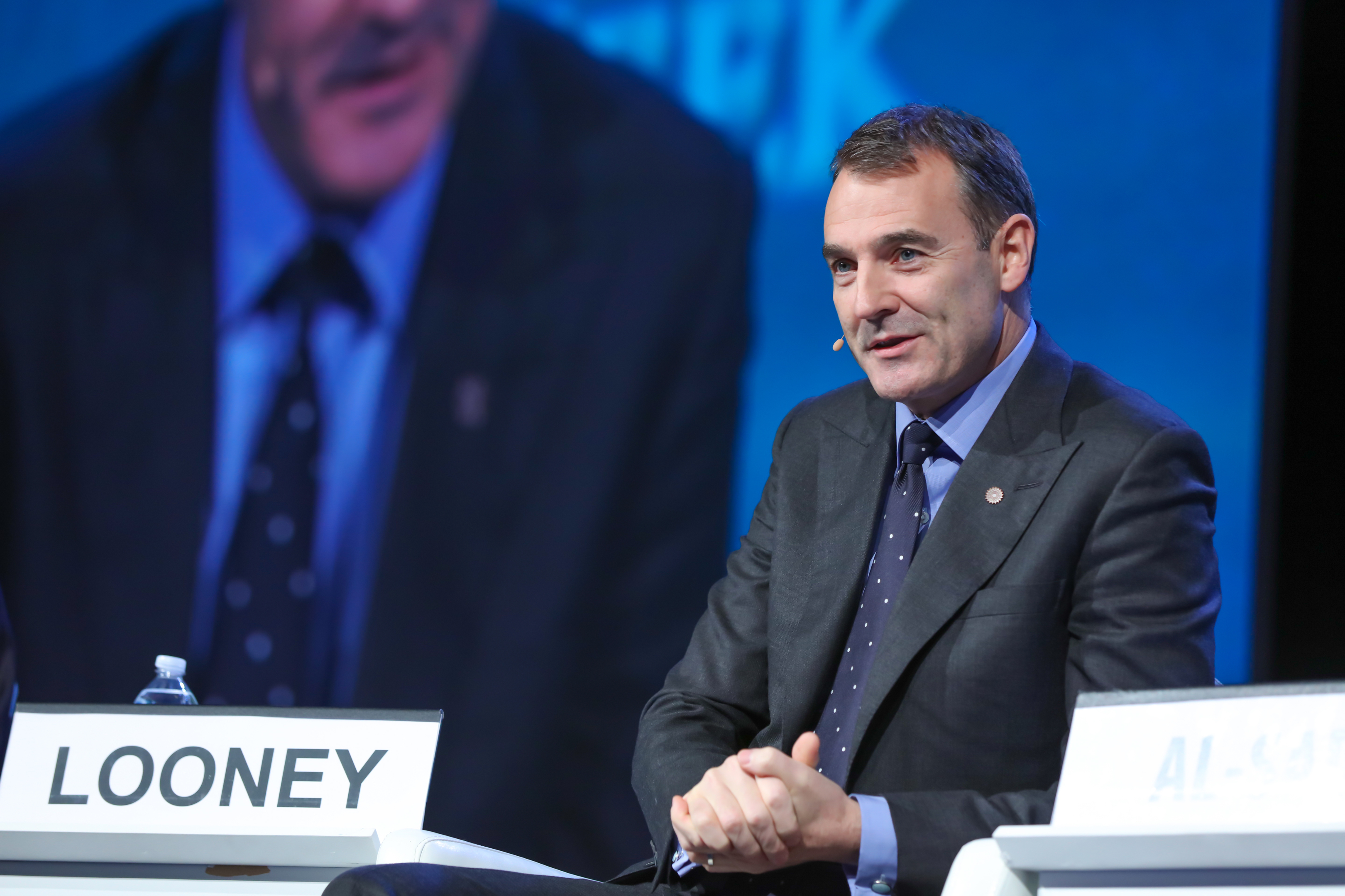 BP Upstream CEO Bernard Looney