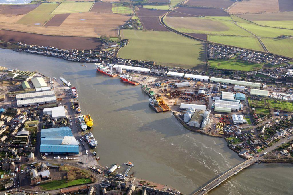 SSE picks Montrose Port for giant £6bn wind project