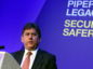 The Safety 30 Piper Alpha conference at AECC, Aberdeen. In the picture is Martin Temple, HSE chairman.
