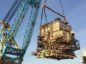 BP's Miller platform being decommissioned.