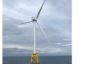 The first turbine has been installed for the Beatrice wind farm.