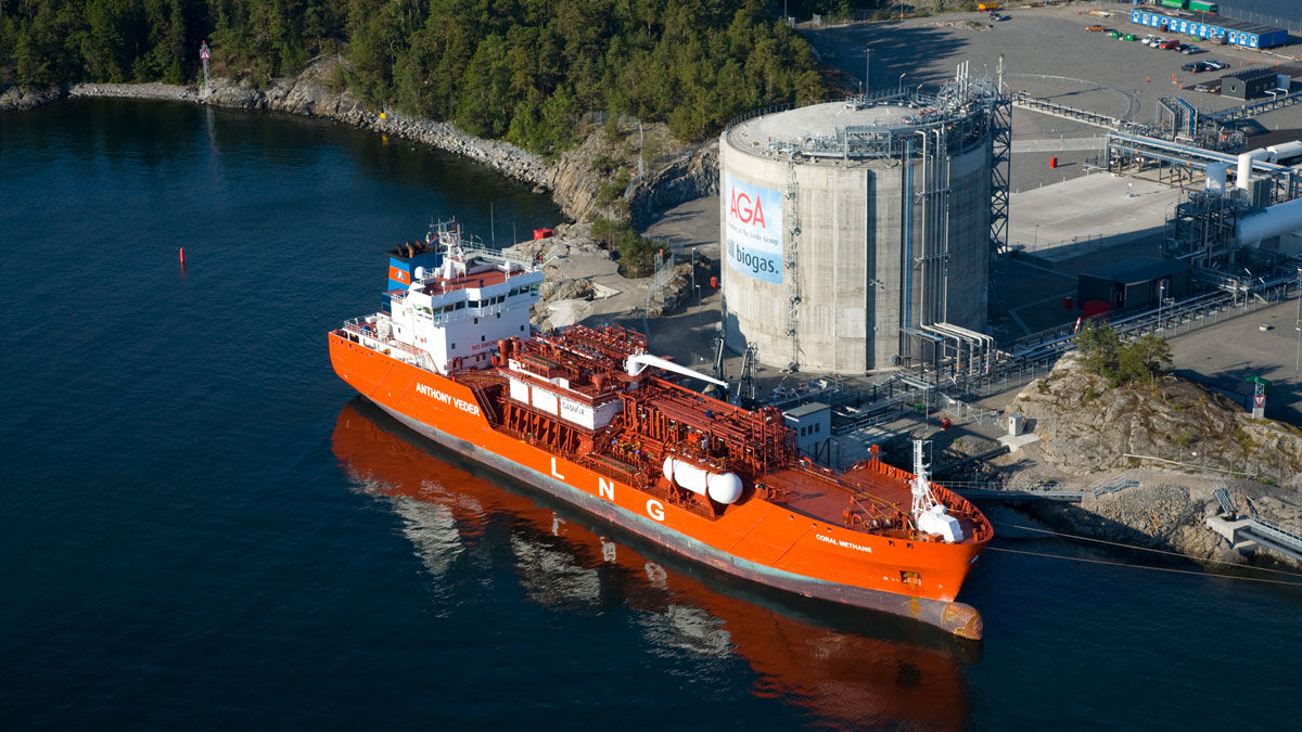 Bomin Linde LNG Terminal