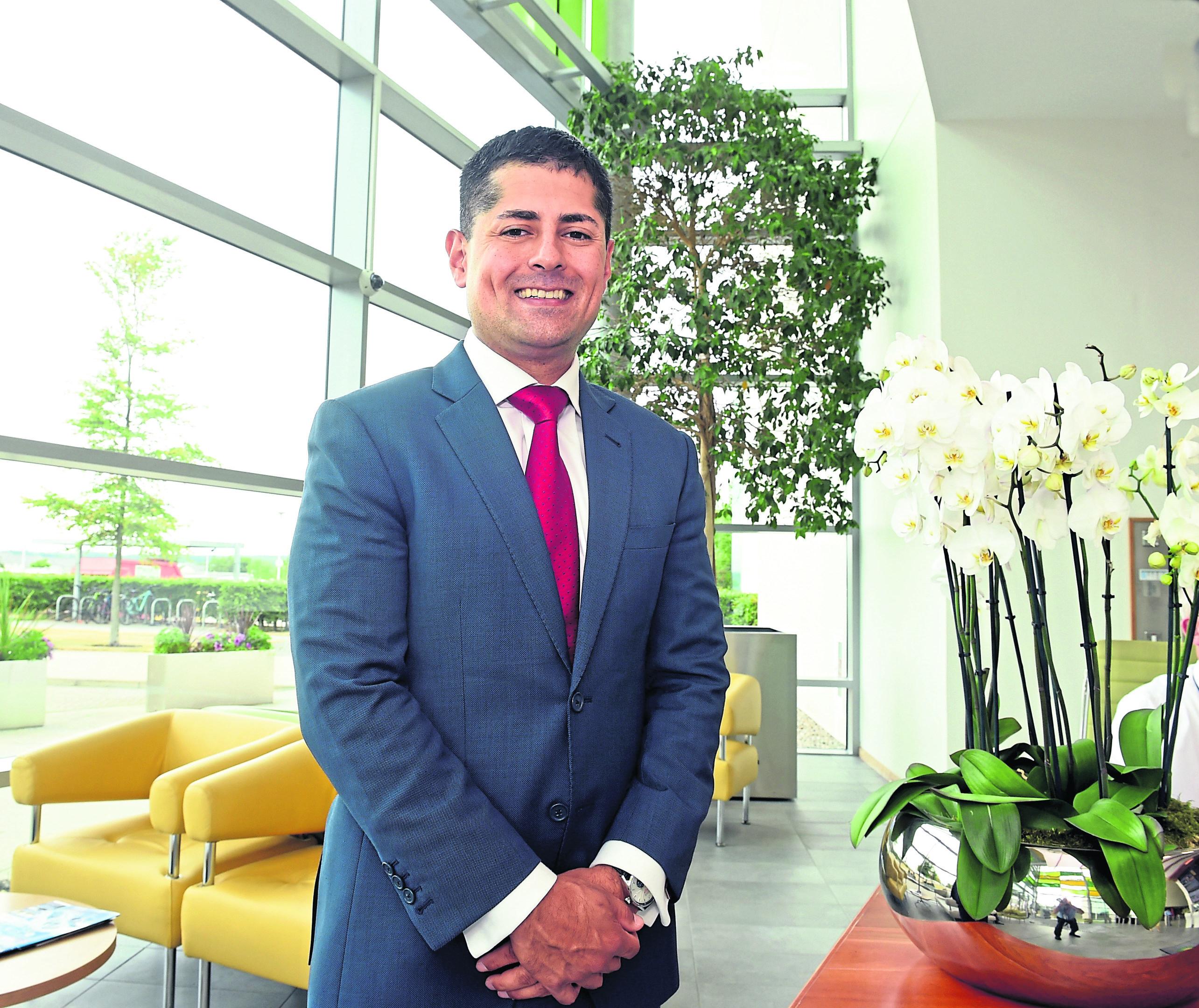 Ariel Flores, UK North Sea head at BP