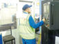 A FTV Proclad International technician at work.