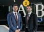 David Purse (left) with Steven Fraser, Partner at Anderson Anderson & Brown.