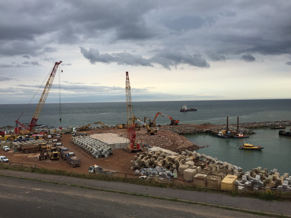 Nigg Bay harbour expansion Pic: Crown Estate Scotland