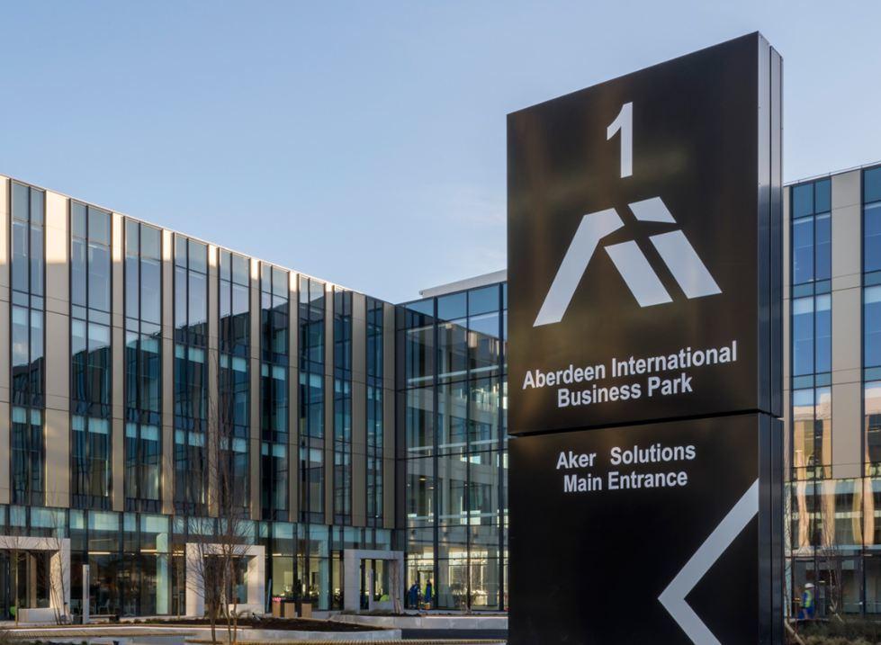 Aker Solutions' base in Dyce, Aberdeen