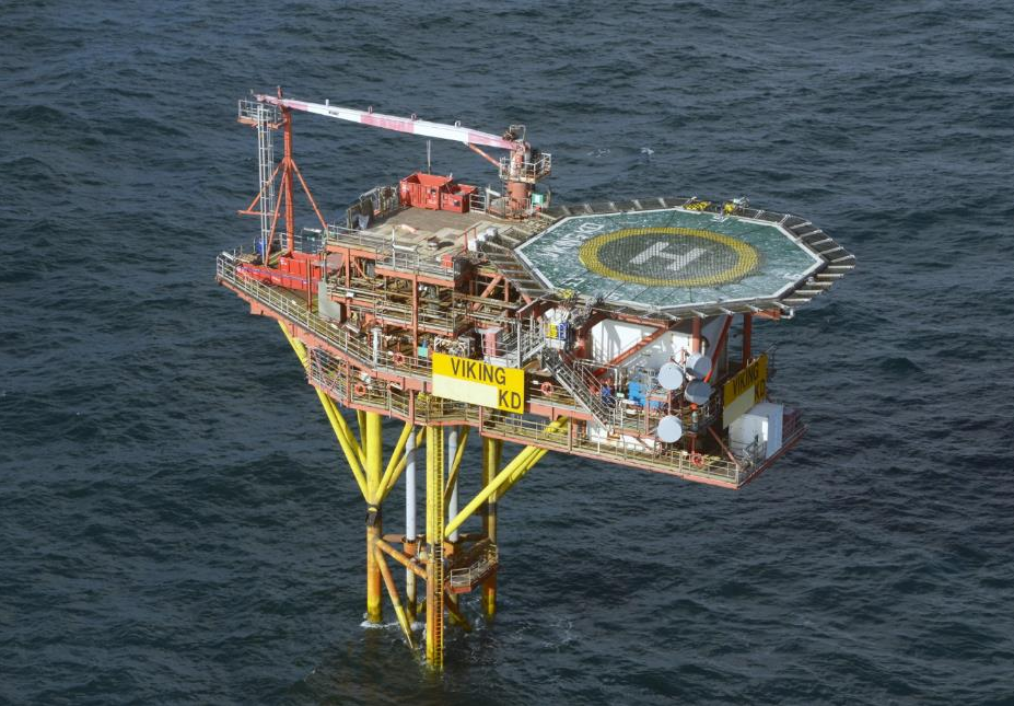 One of the unmanned Viking installations