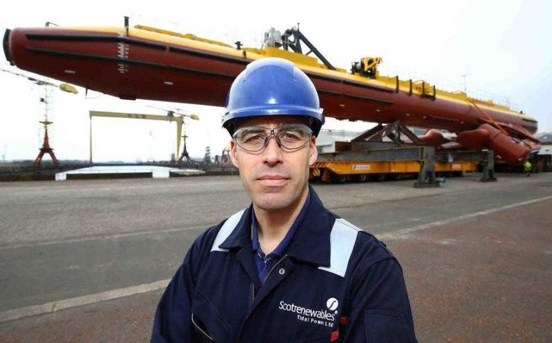 Andrew Scott, chief executive of Orbital Marine Power.