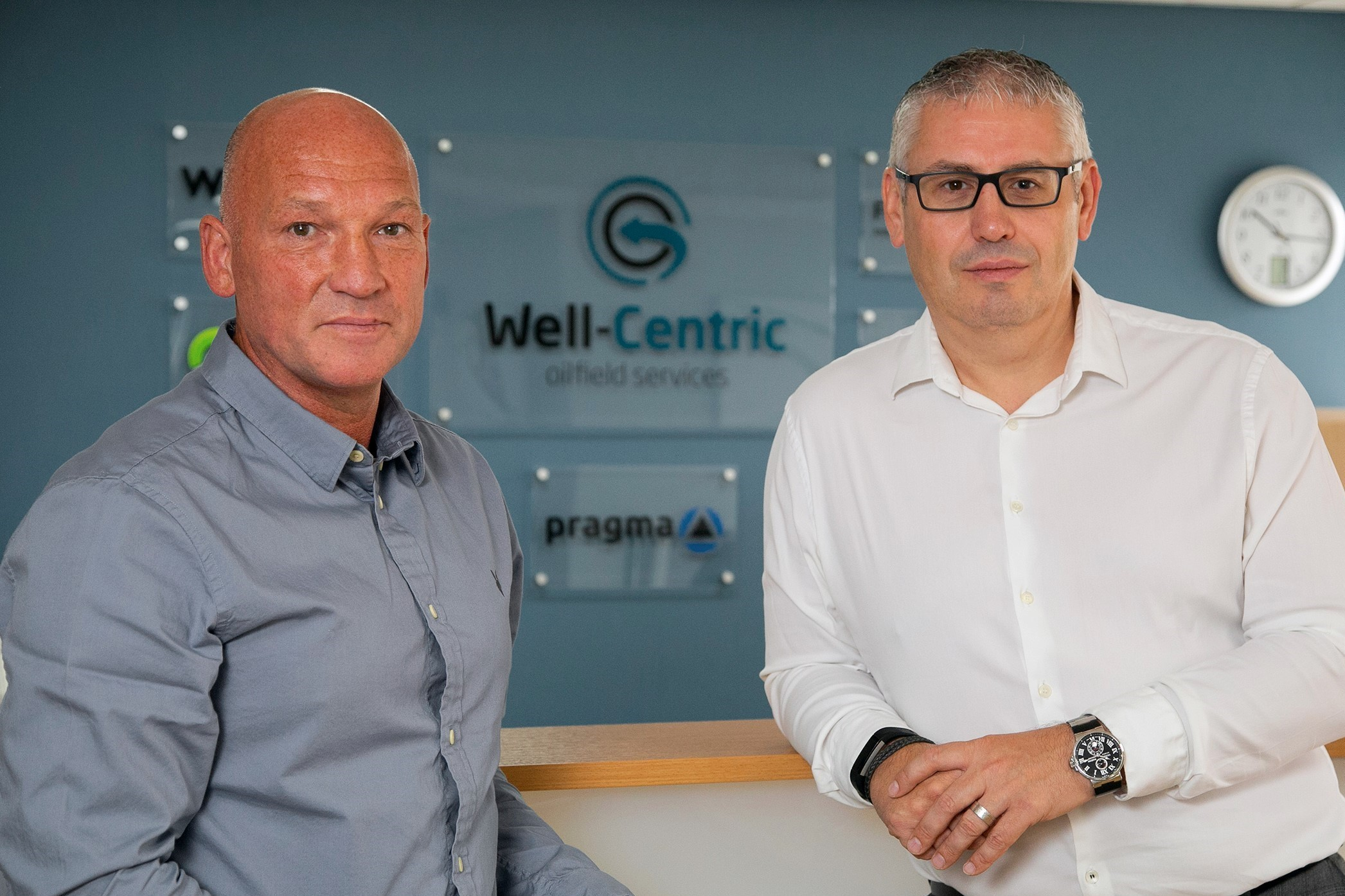 Malcolm Adam and Gary Smart of Well-Centric.