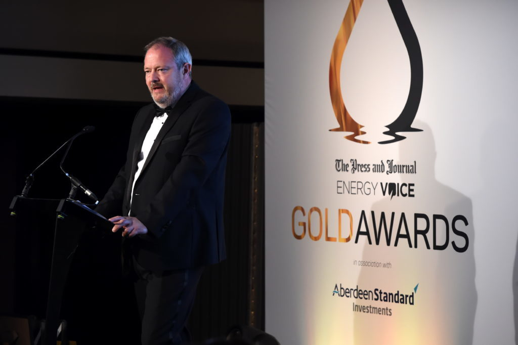 Press & Journal's Gold Awards 2018, at the Marcliffe Hotel.  Picture of Richard Neville.  Picture by KENNY ELRICK     07/09/2018