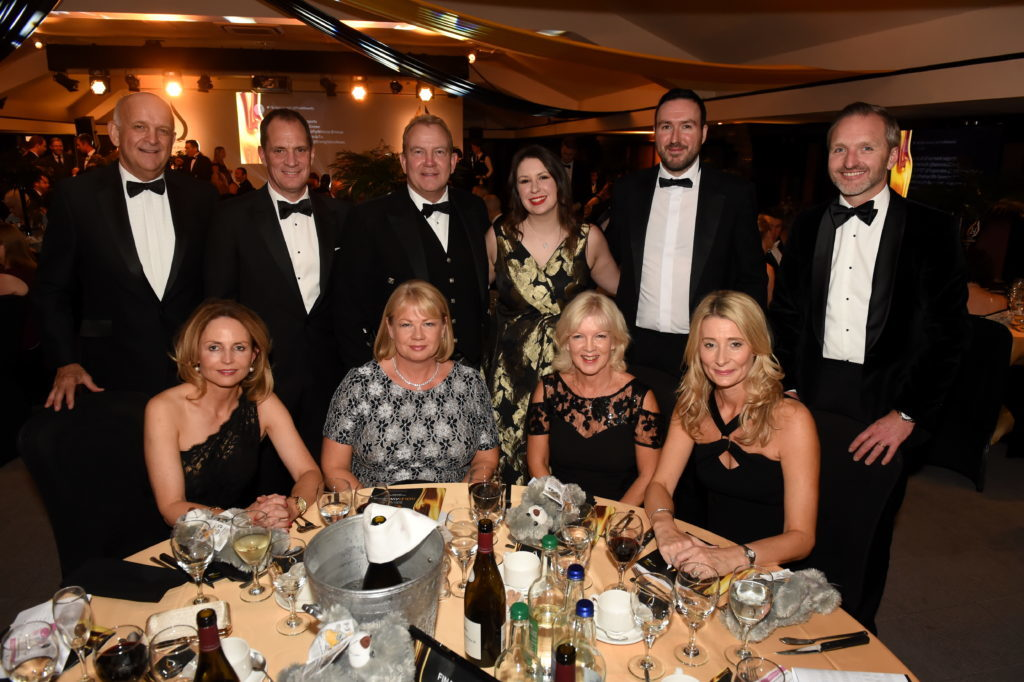 Press & Journal's Gold Awards 2018, at the Marcliffe Hotel.  Picture of table 20 - Nexen.  Picture by KENNY ELRICK     07/09/2018