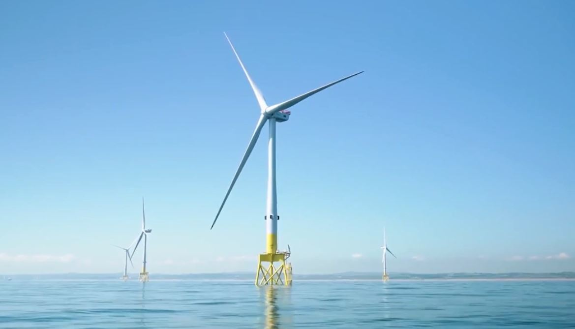 The European Offshore Wind Deployment Centre (EOWDC).