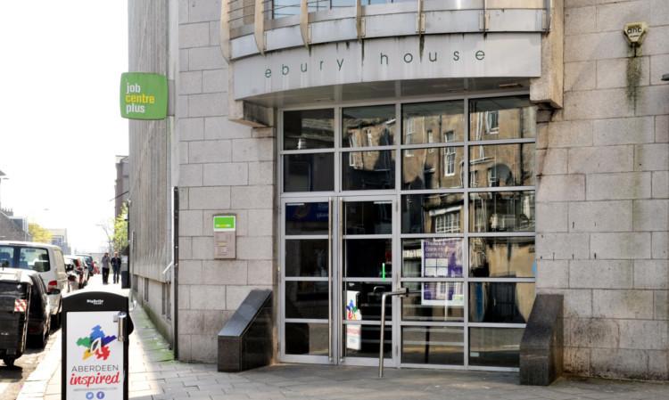 The Job Centre Plus on Dee Street, Aberdeen