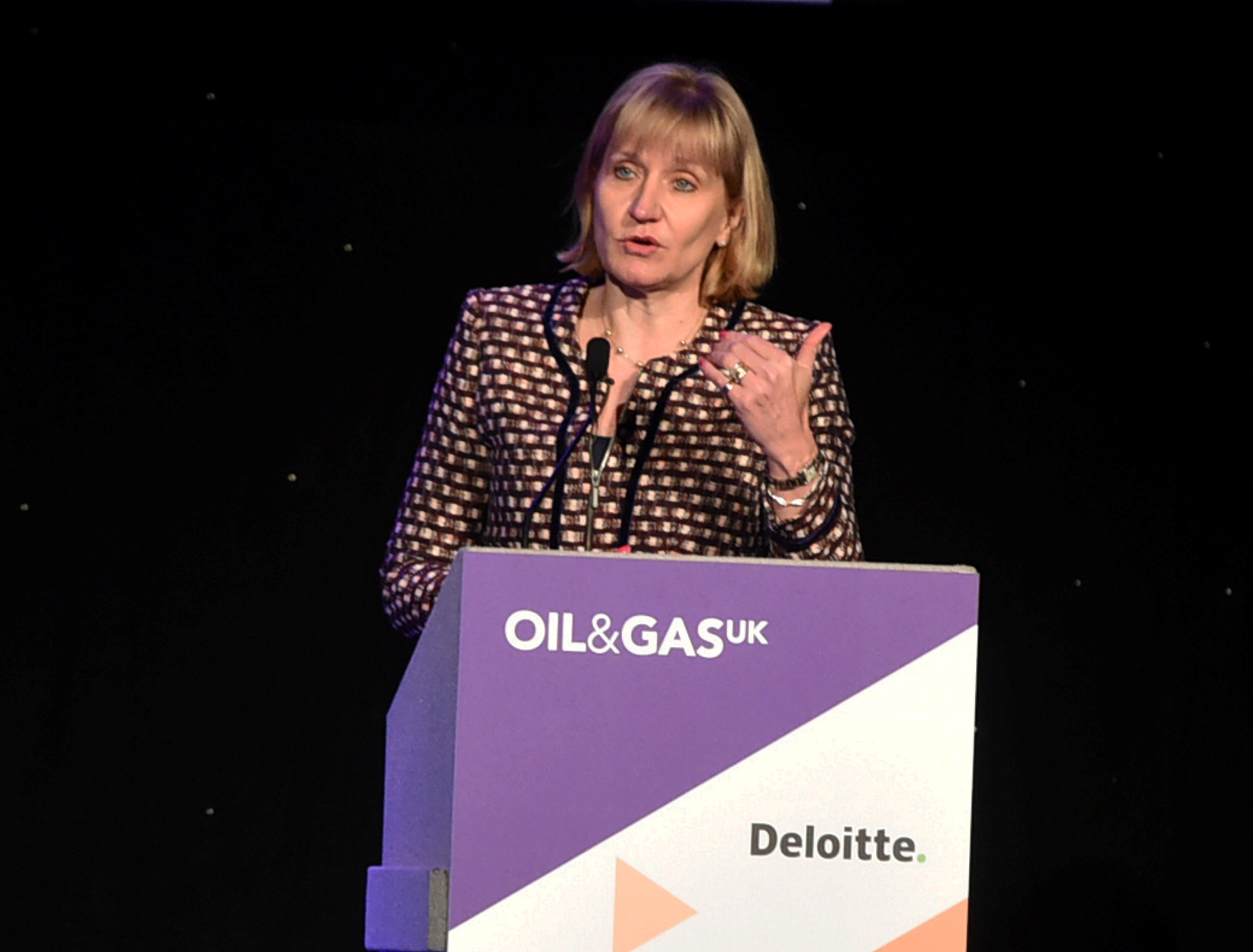 Oil and Gas UK CEO Deidre Michie