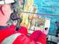 Crane op: supply vessel offloading equipment  Sparrow Crane operator