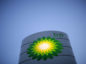 A BP Plc company logo stands illuminated on a sign on the forecourt of a gas station in London, U.K., on Tuesday, Jan. 14, 2014. U.K. inflation unexpectedly slowed in December, cooling to the Bank of England's 2 percent target for the first time in more than four years. Photographer Matthew Lloyd/Bloomberg