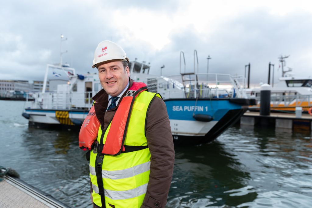 All aboard for innovative new Peterhead offshore wind supply vessel