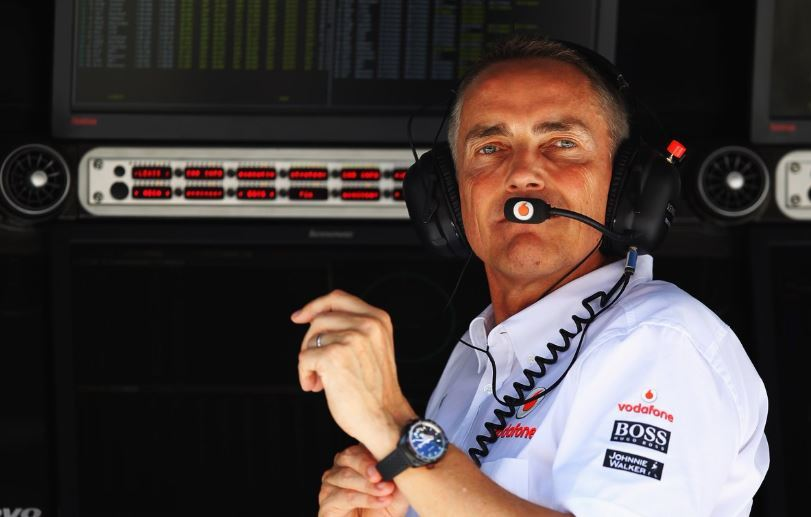 Former McLaren Group CEO and Formula One team principal Martin Whitmarsh.